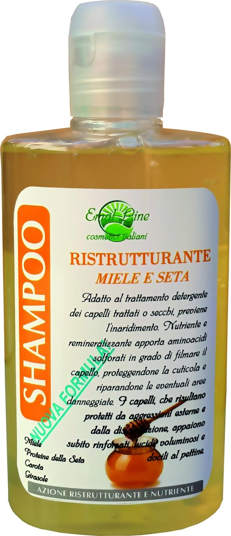 Shampoo Miele e Seta Nutriente e Ristrutturante 250 ml