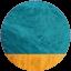 SeaGreen-Tangerine
