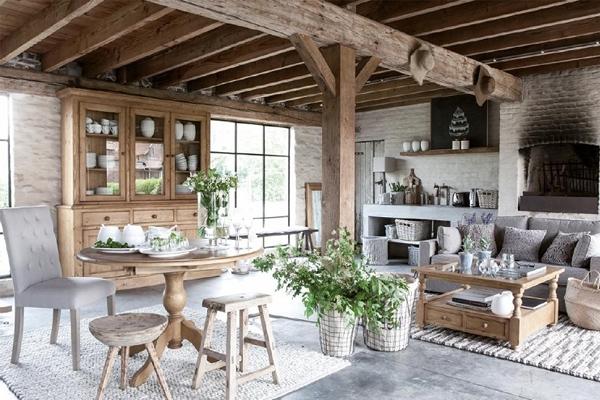 Arredamento in stile provenzale country rustico gatta for Arredamento country provenzale