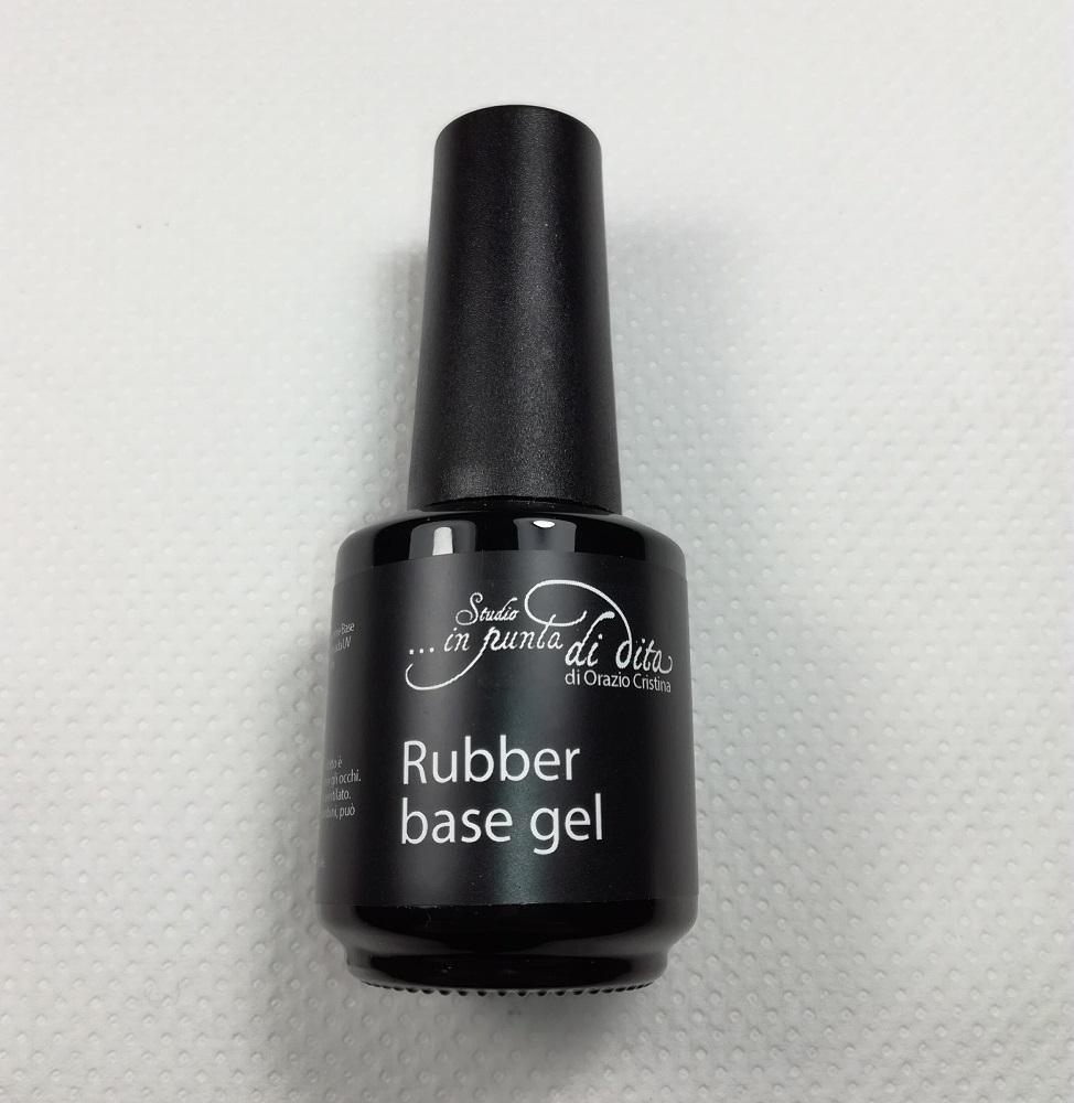 Rubber base gel