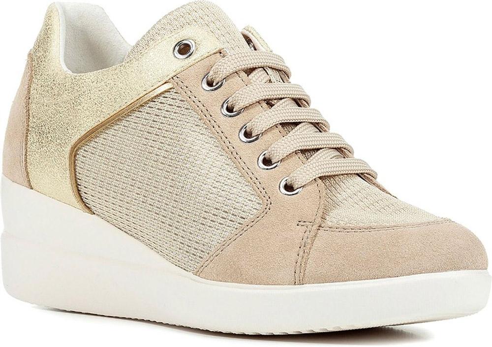 GEOX STARDUST D8230B scarpe donna sneakers pelle camoscio