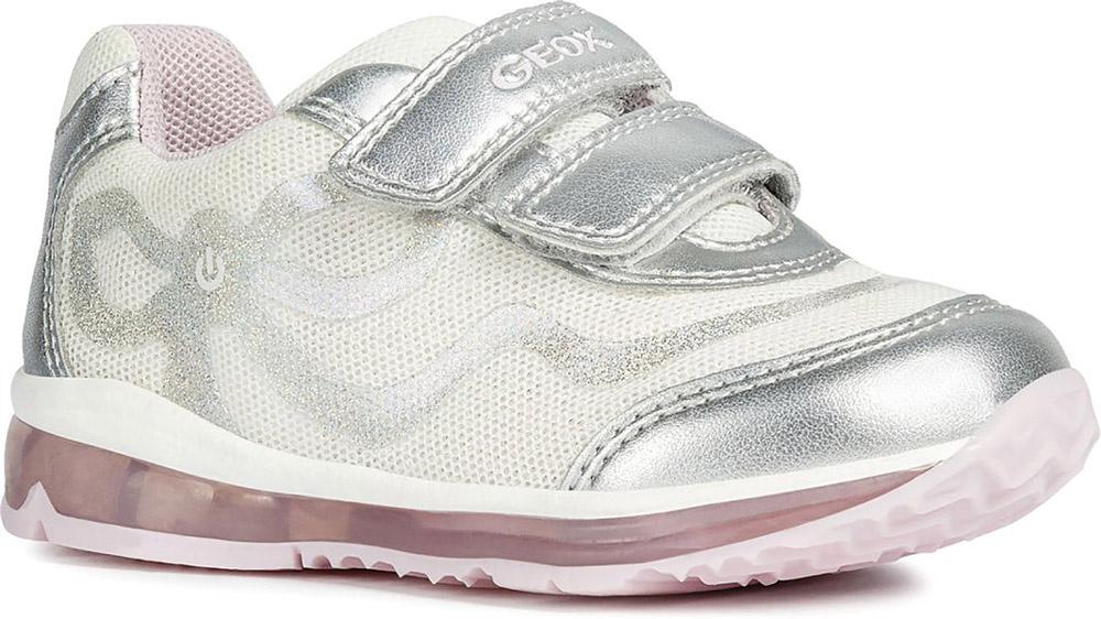 Baby Con Doppio Todo Tessuto B9285a Girl Luci In Strap Sneaker Geox PZwilTOXuk