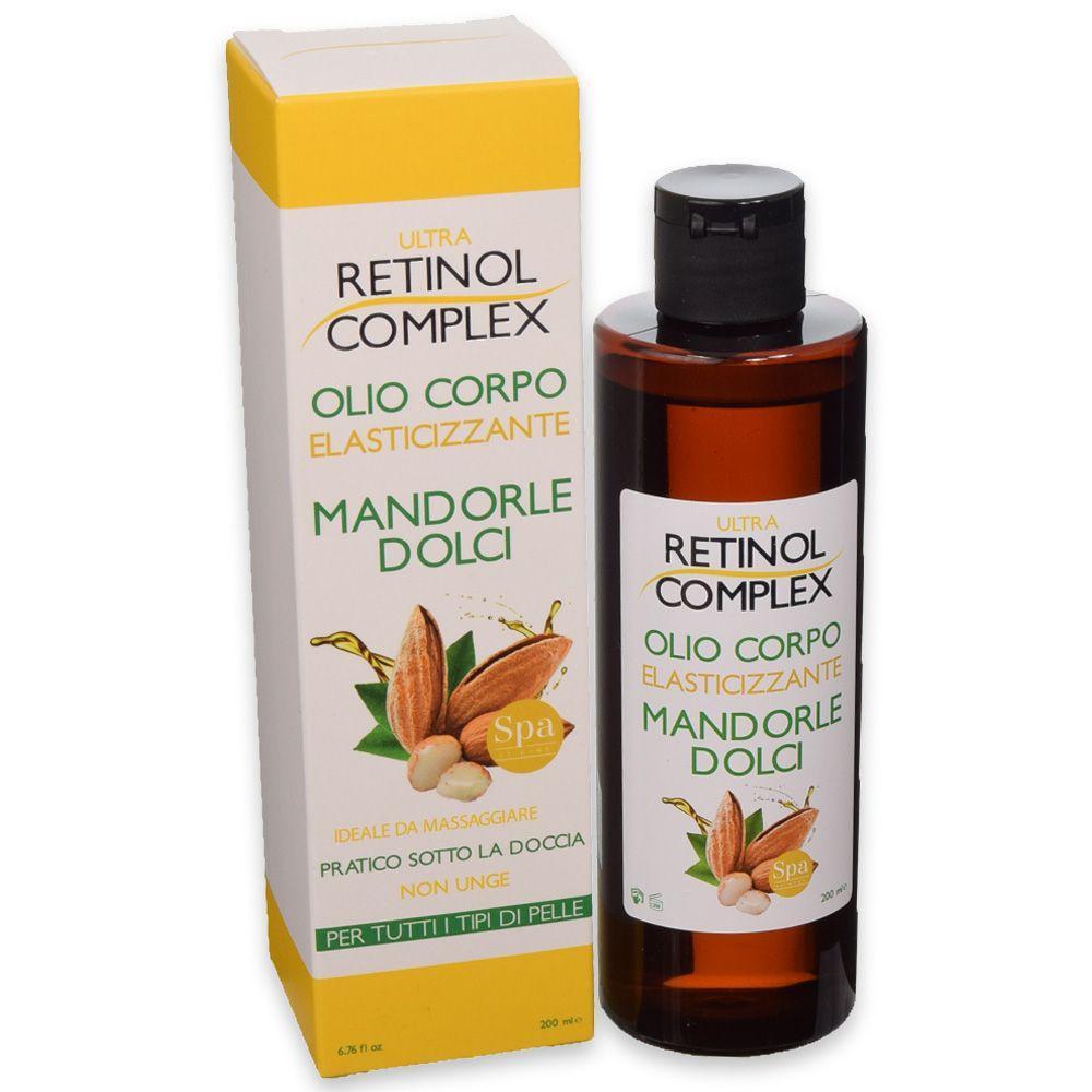 Olio Corpo Mandorle Dolci Retinol Complex