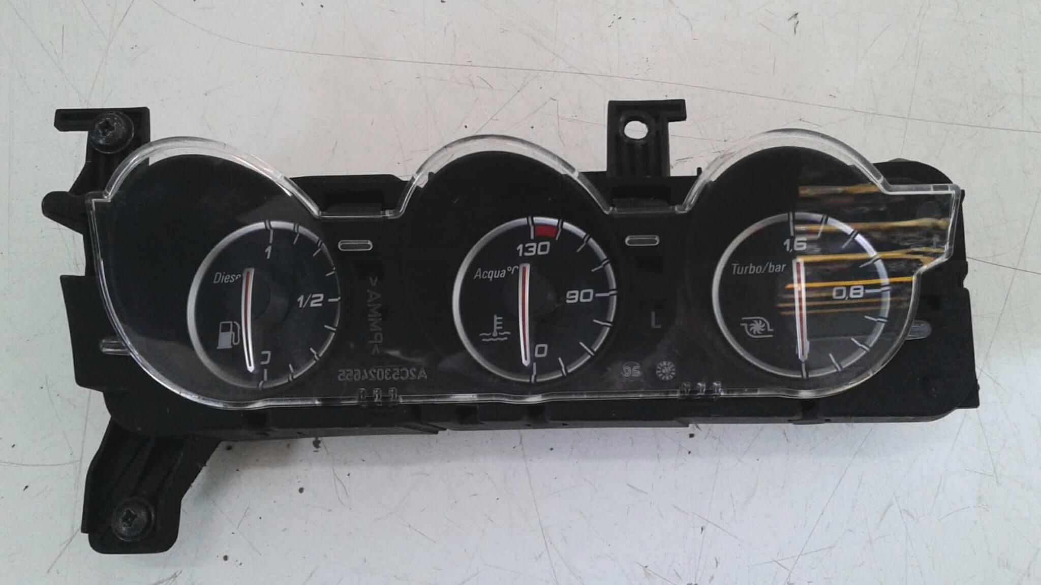 Quadro strum. inf. usato Alfa Romeo 159 1.9 JTDM dal '05 al '13