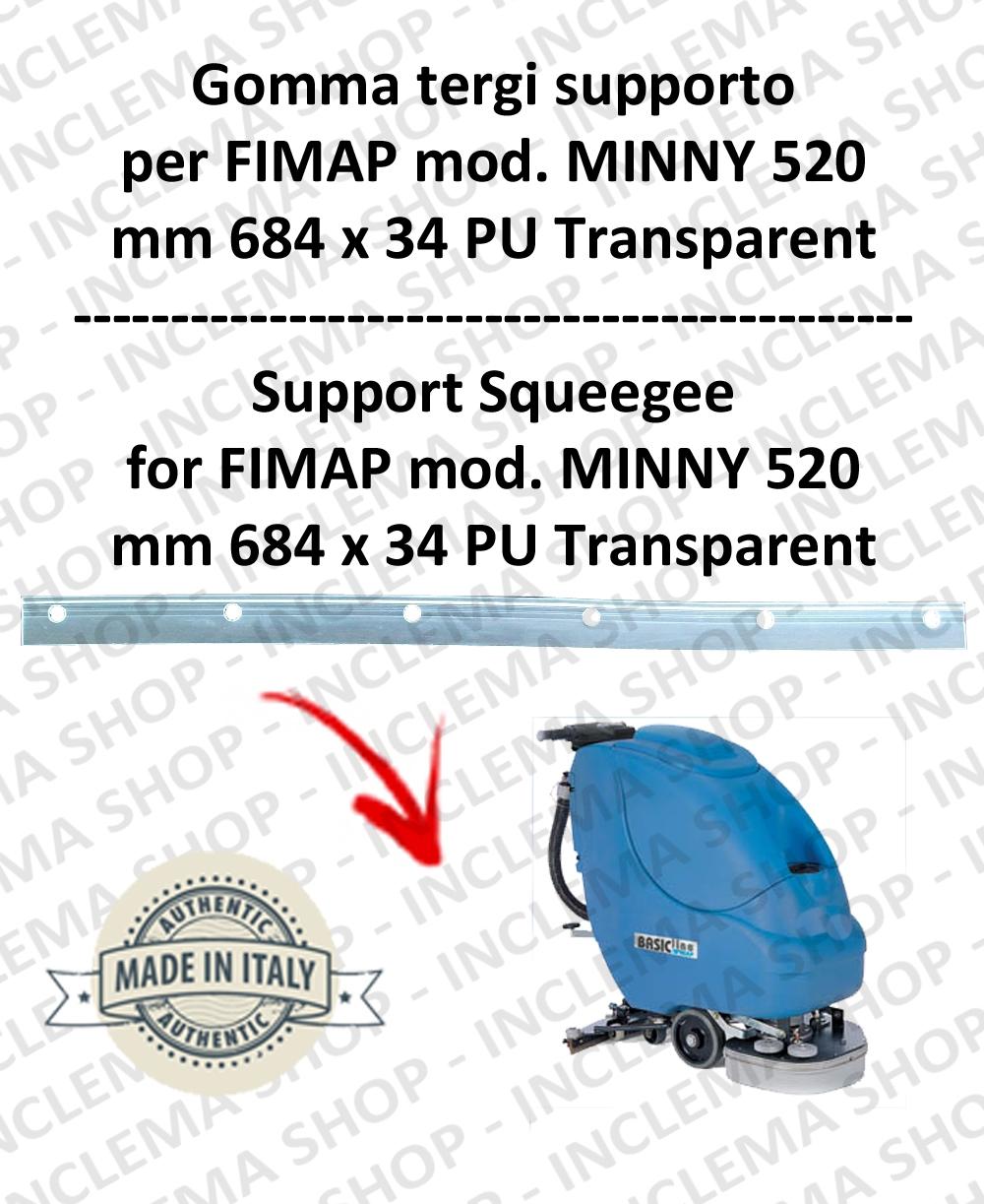 MINNY 520 Unterstützung Sauglippen für scheuersaugmaschinen FIMAP