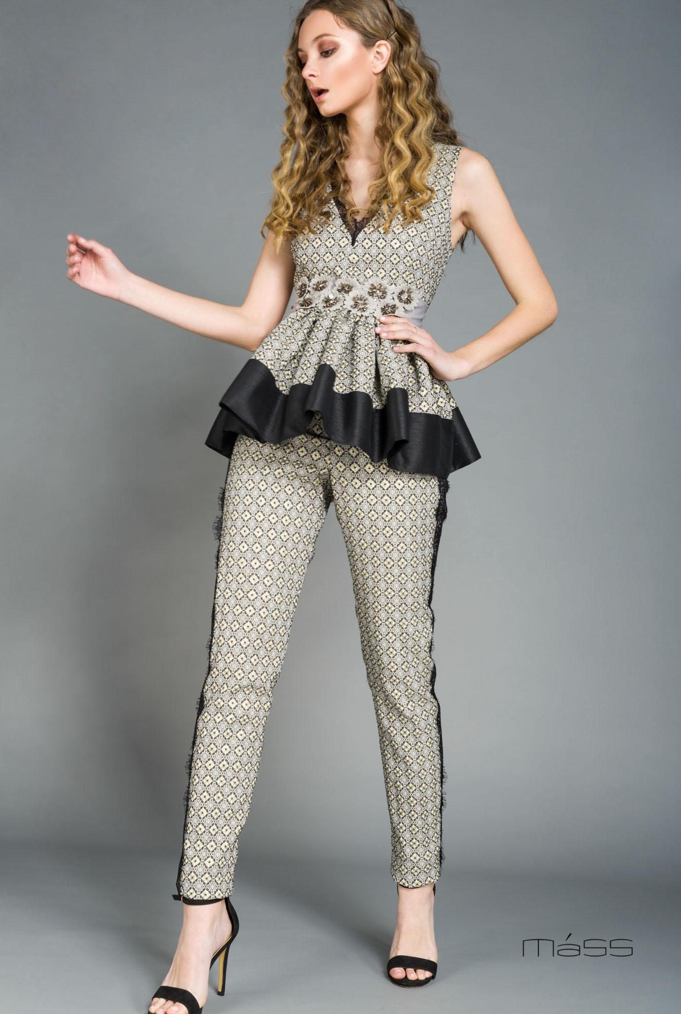 buy popular b8a5a 4bb14 Completo donna 2 pz. pantalone da cerimonia.