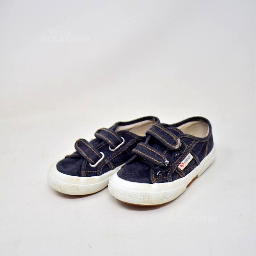 Scarpe Superga Blu N.28