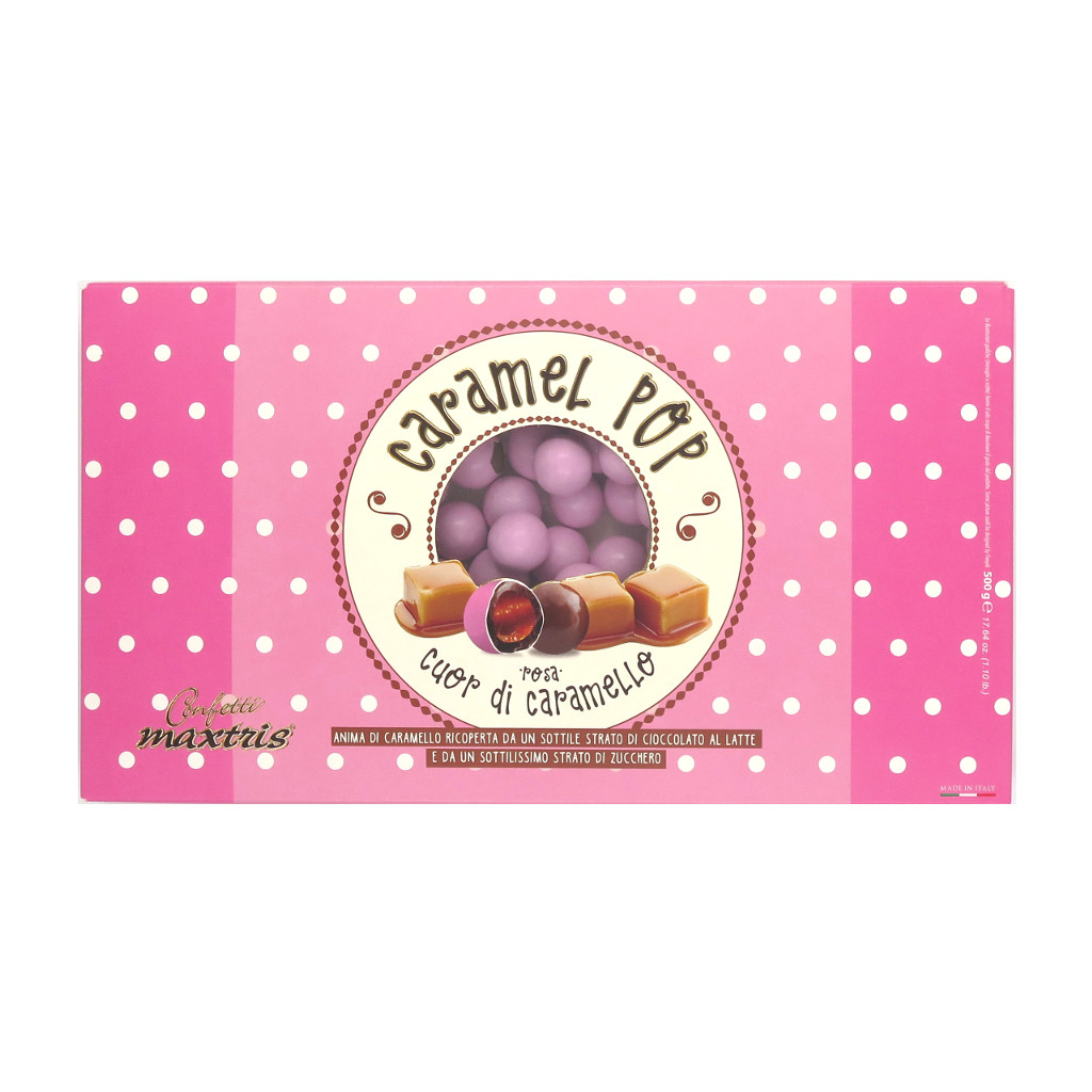 Confetti Maxtris Caramel Pop Rosa