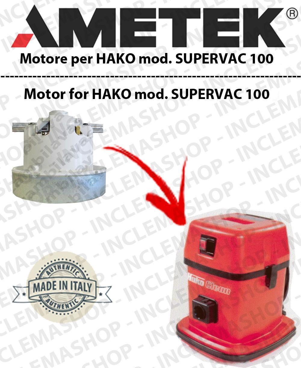 SUPERVAC 100 MOTEUR AMETEK aspiration pour aspirateurs HAKO