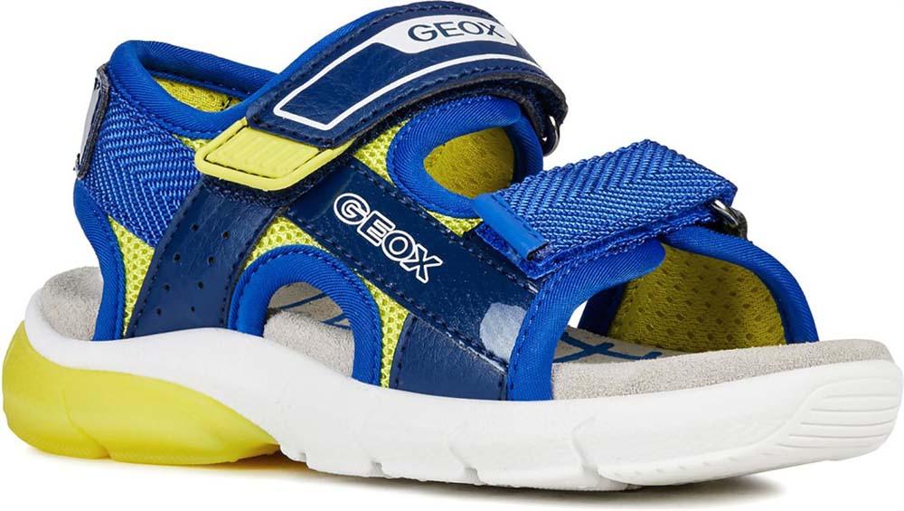Con Geox Off Strap J929dc Doppio Junior Boy On Sandalo Luci Flexyper 9YD2EIWH
