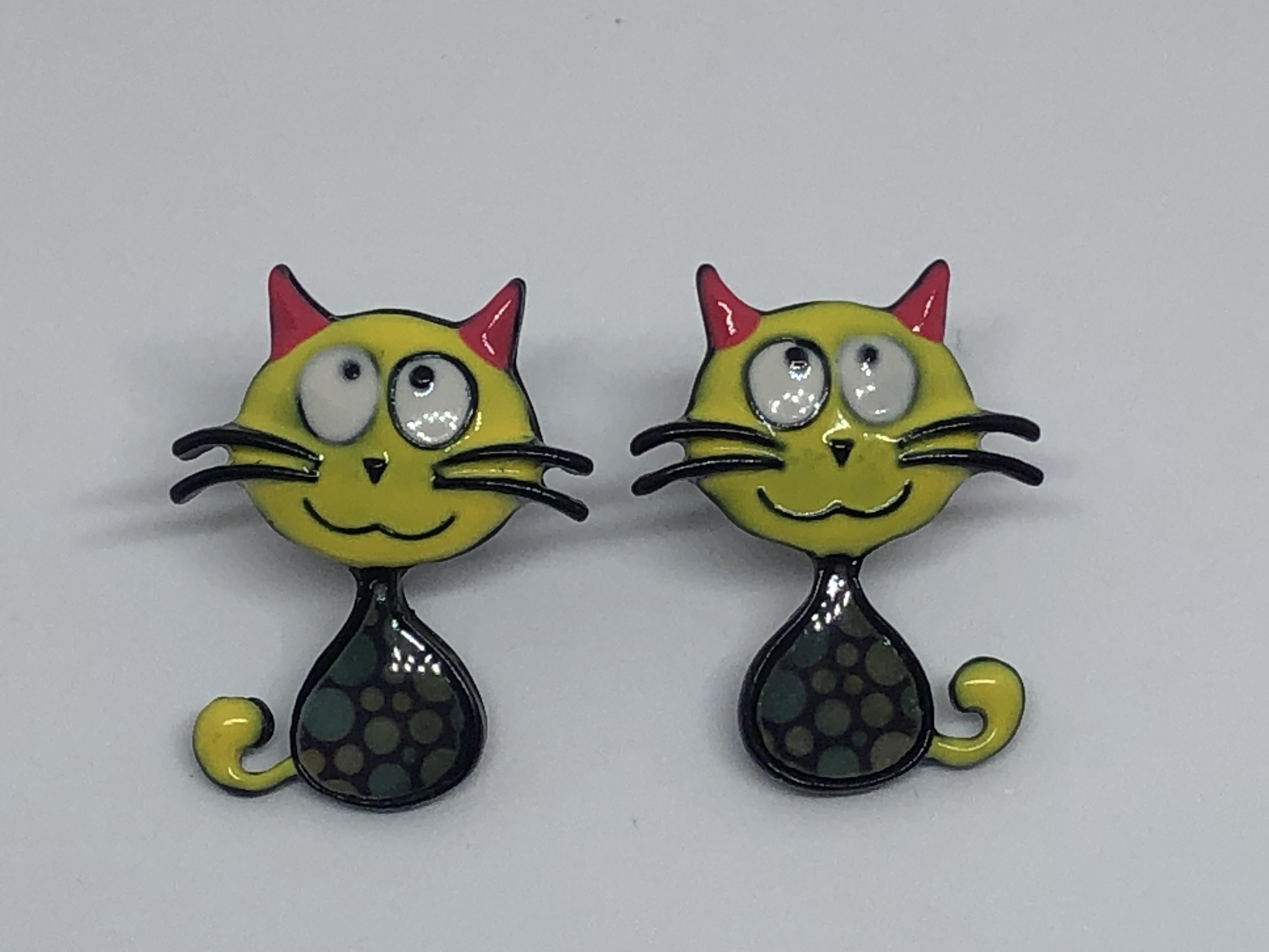 17eae05c orecchini gatto