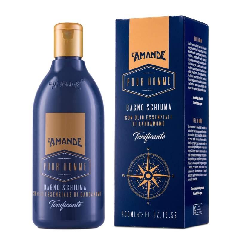 comprare a buon mercato fornire un'ampia selezione di come serch Olio di Cardamomo Bagno Schiuma 400ml. Uomo L'Amande in ...