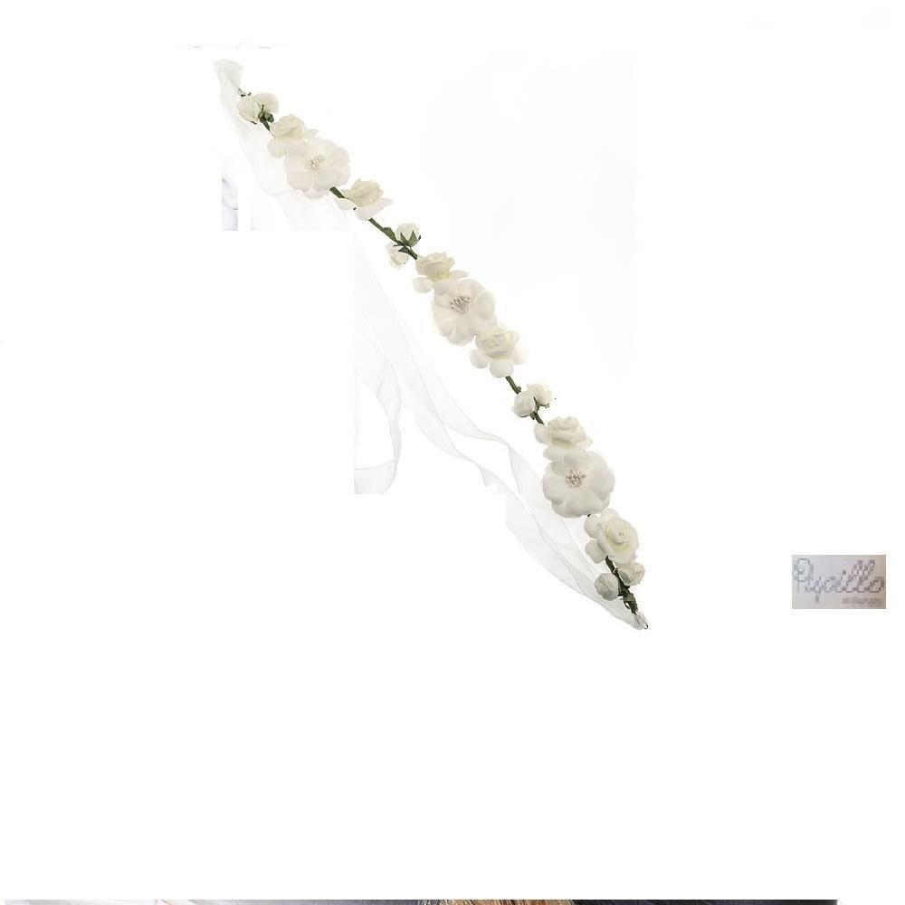 forcina per capelli fiori
