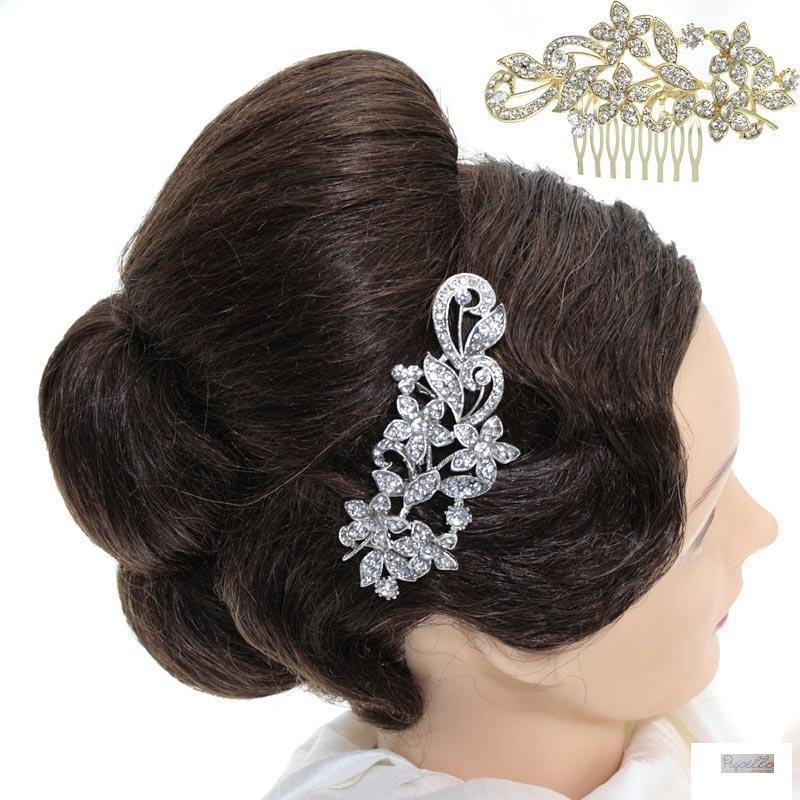 pettinino per capelli strass