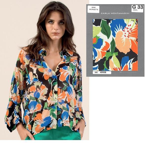 Camicia kimono