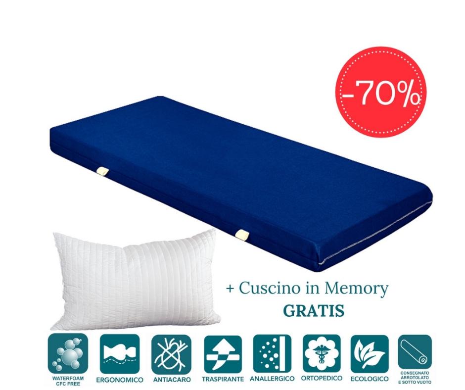 Materasso Ergonomico O Ortopedico.Materasso Ortopedico Mattress In Waterfoam Alto 15 Cm E Multifunz