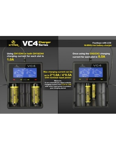 VC4 Caricabatteria - XTAR