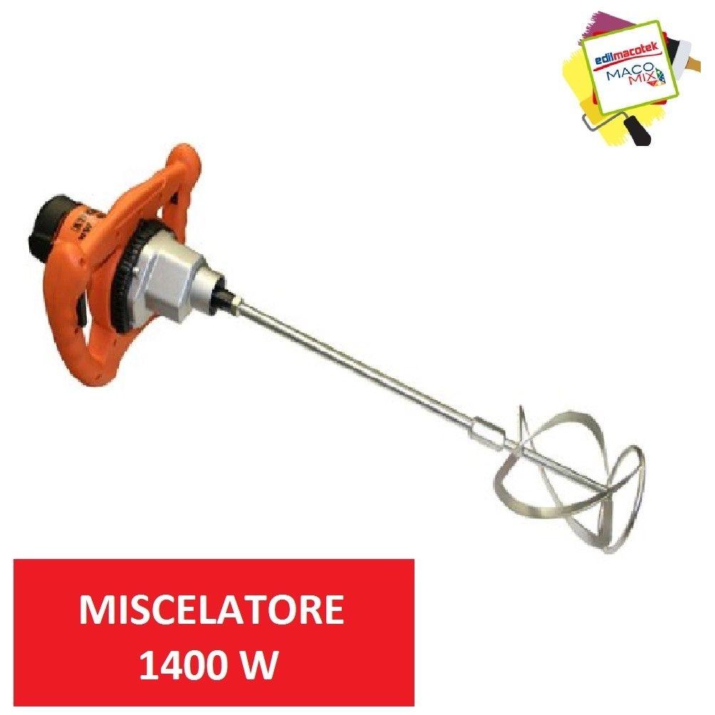 Miscelatore elettrico Atika rw 1400 per colla malta cemento