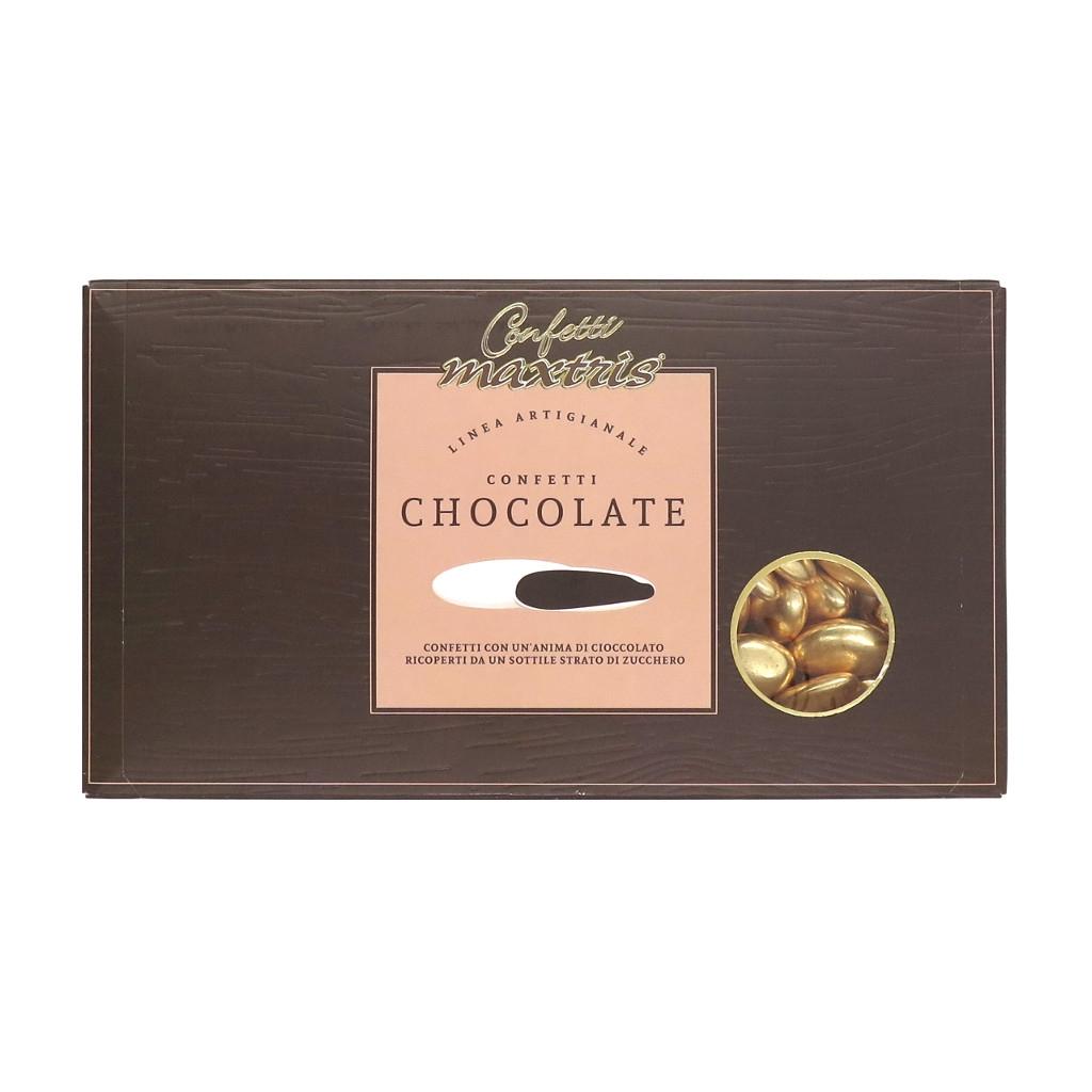 Confetti Maxtris Chocolate Oro