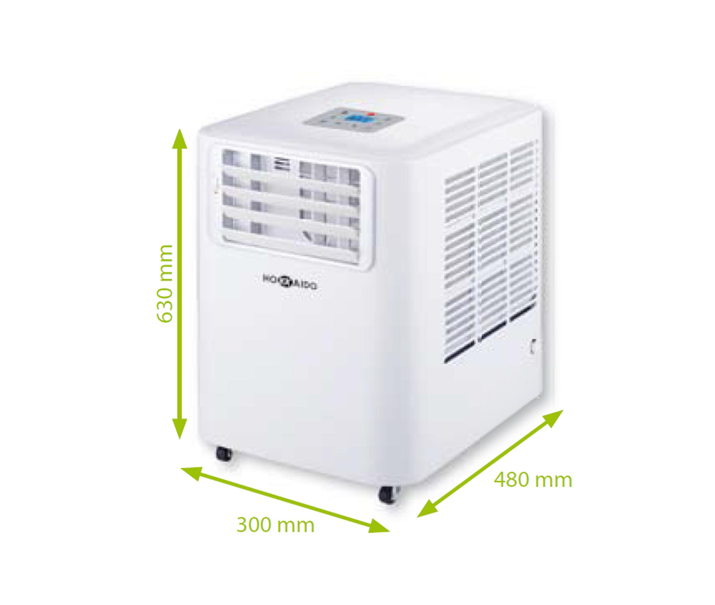 Climatizzatore portatile  monoblocco  a vaporizzazione  automatica  , classe energetica A +