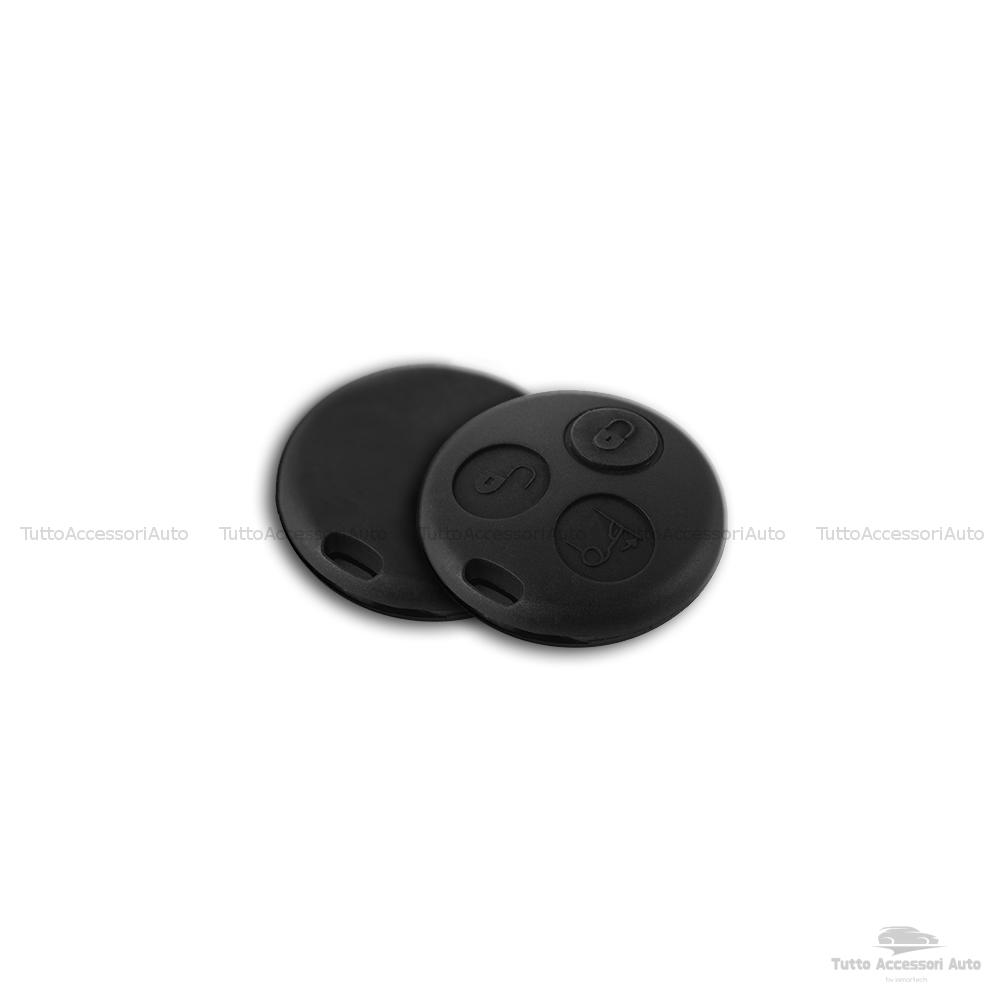 Cover Guscio Scocca Per Telecomando 3 Tasti Autovetture Smart Fortwo 450 Compatibile Solo Guscio No Elettronica E Lama