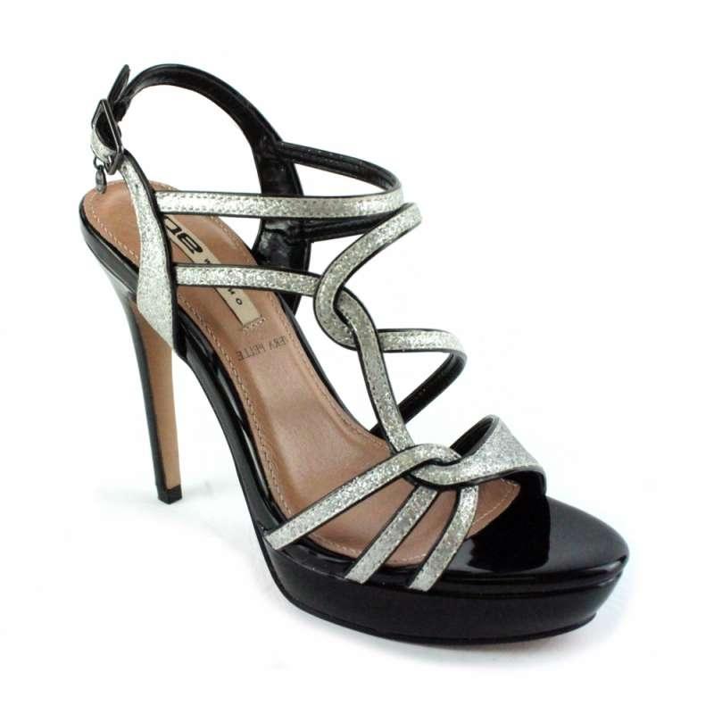 Nero Argento Sandalo Polvere Sandalo Polvere Nero K1JcF3uTl5
