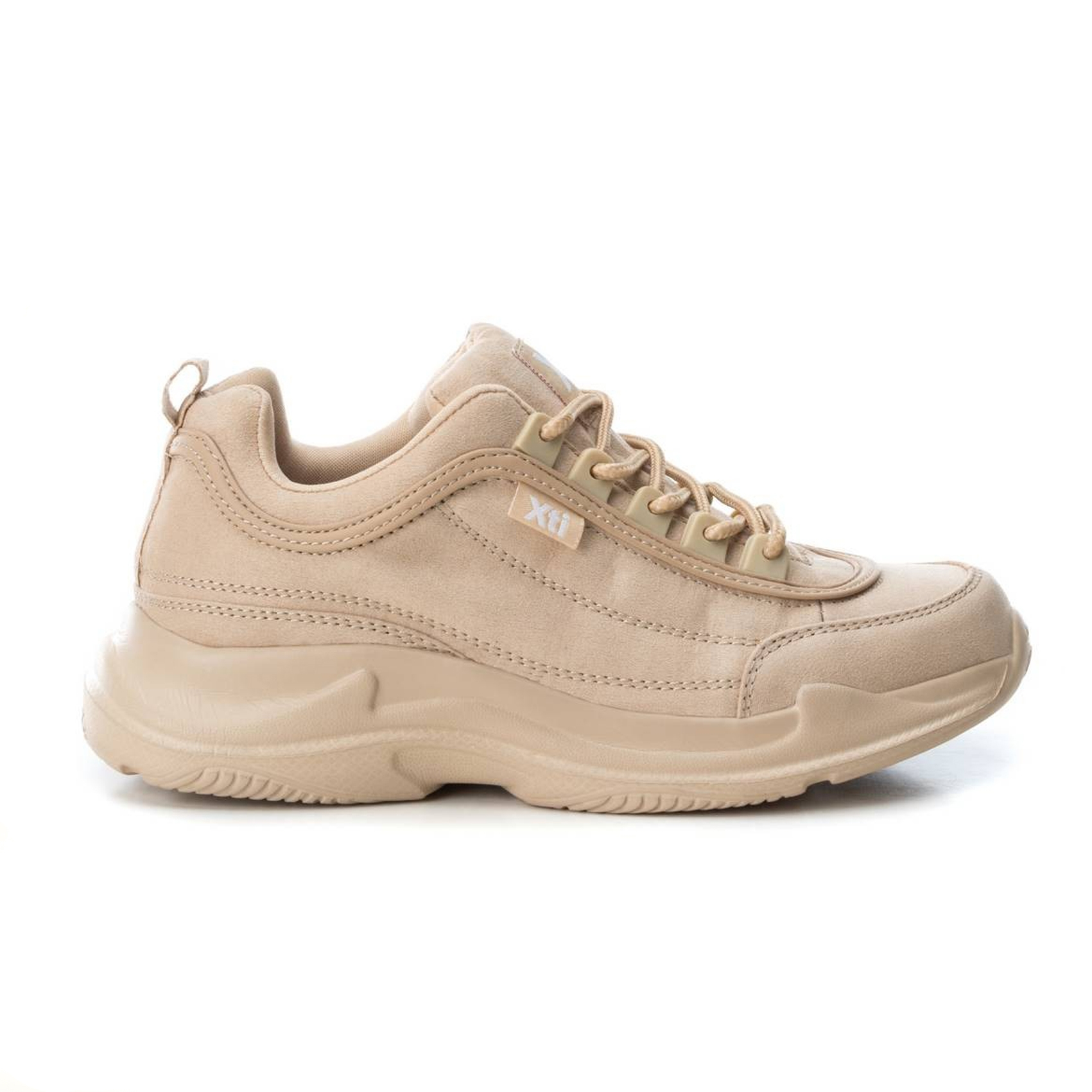 Chunky sneaker nude o grigia Xti