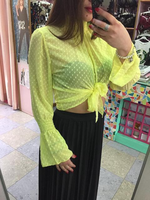 Blusa Nodo Pois 4 colori