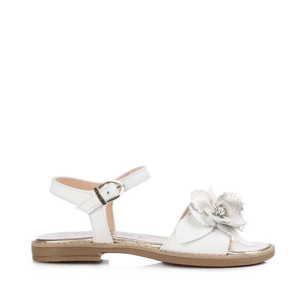Andrea 50404 Pelle In M4a2 Sandalo Fiore Elegante Ragazza Morelli Con eBdxrCo