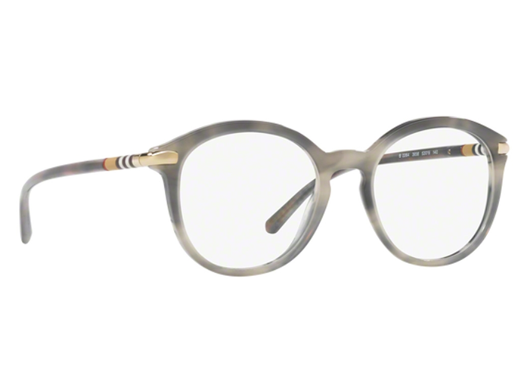 Burberry - Occhiale da Vista Donna, Striped Grey BE 2264 3658 50