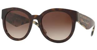 Burberry - Occhiale da Sole Donna, Dark Havana BE4260 368813 54