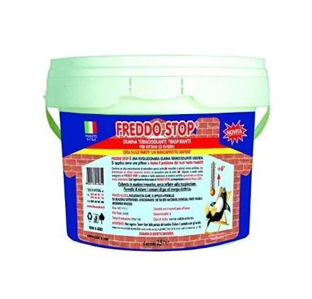 Tecnostuk freddo stop guaina liquida termoisolante traspirante 2,5lt