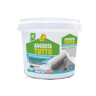 Kerakoll Aggiustatutto pittura risanante termica anti condensa per interni 4lt bianca