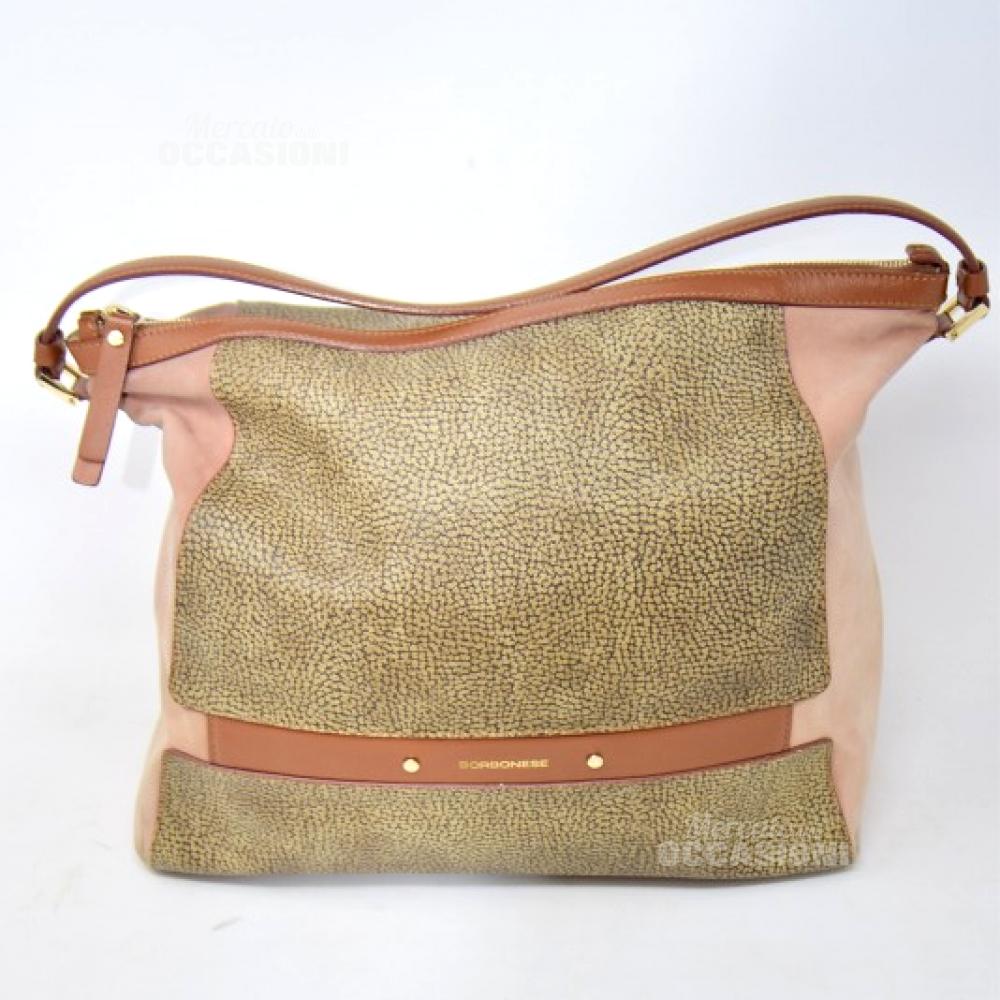 e616e22647 Borsa Borbonese Originale Marrone Vera Pelle Con Dust Bag | eBay
