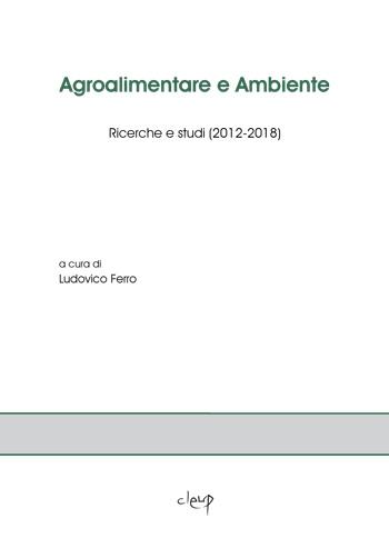 Agroalimentare e Ambiente