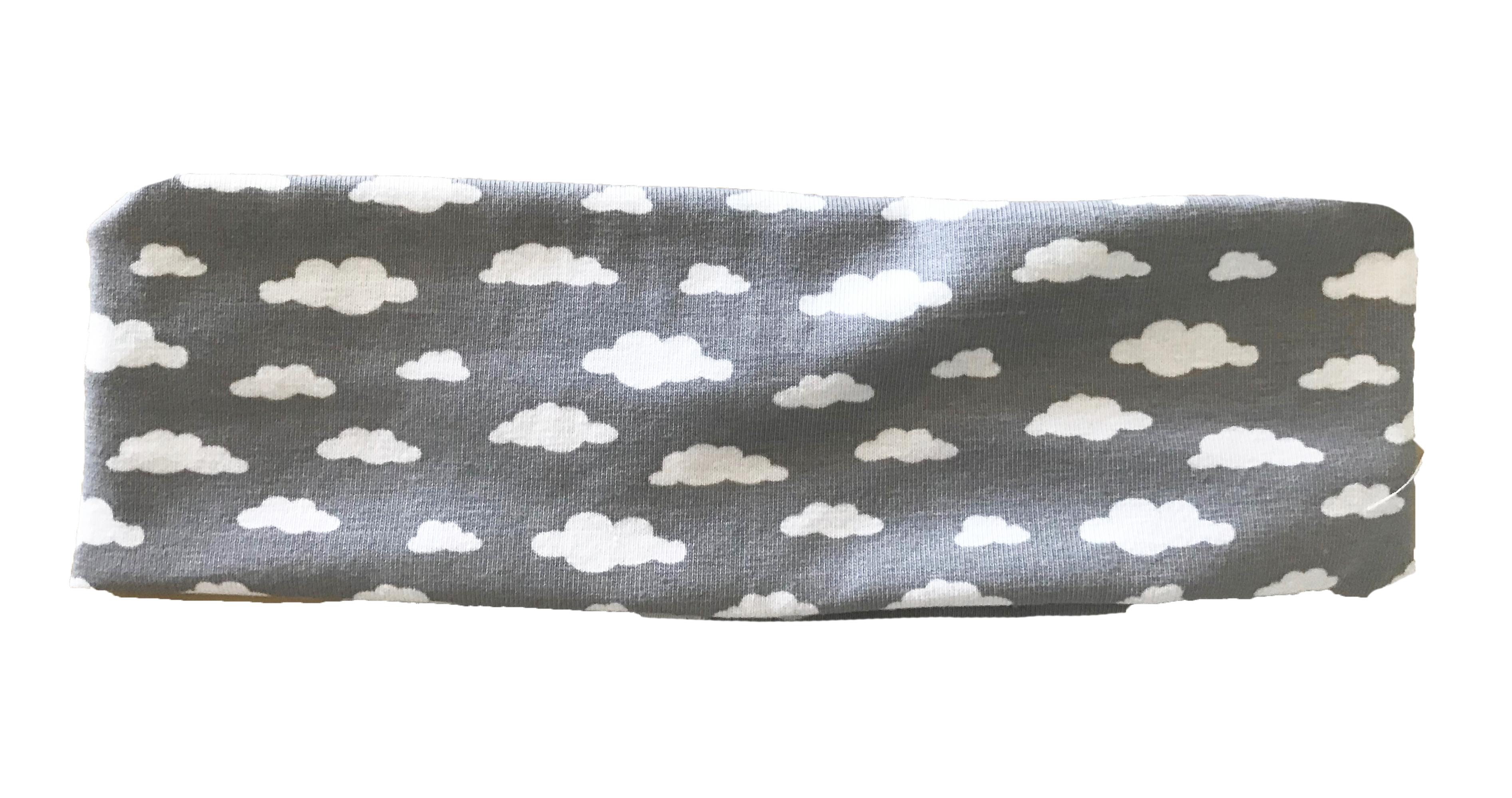 Fascia per i capelli - Nuvole