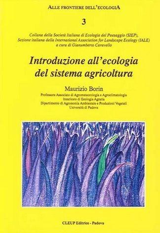 Introduzione all´ecologia del sistema agricoltura