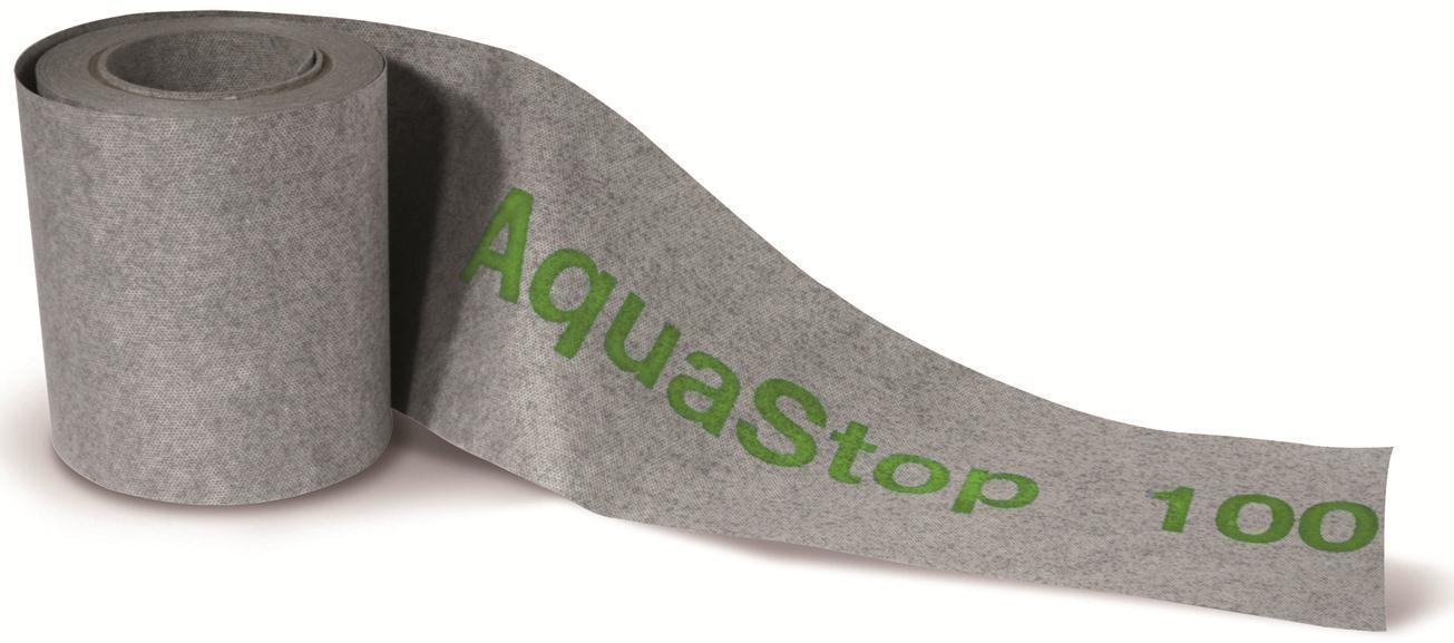 Kerakoll Aquastop 100 bandella nastro per giunti in tnt per Nanoflex  1mx14cm vendita al ml