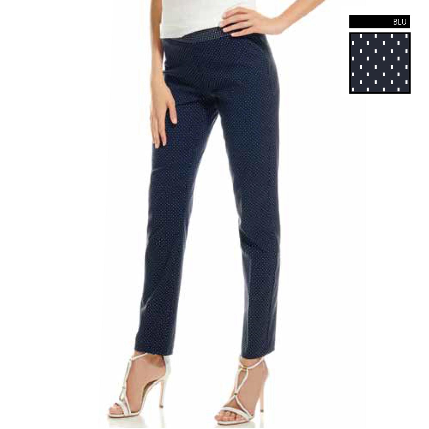 Pantalone blu Evoe