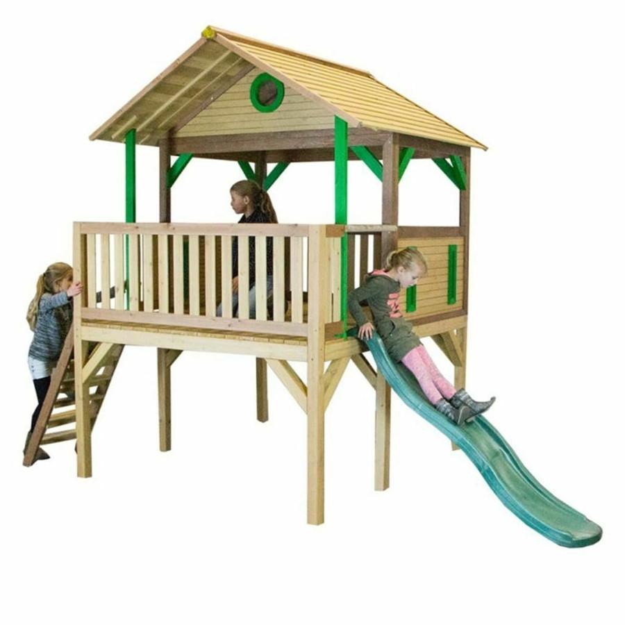 Casetta per Bambini in Legno di Cedro SAFARI BALOO AXI