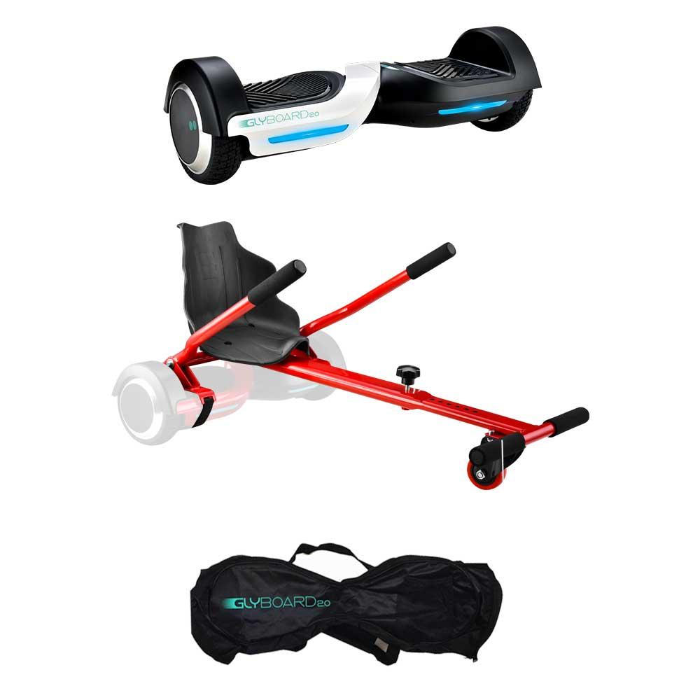 Hoverboard Glyboard 2.0 + Borsa + Glykart Add on