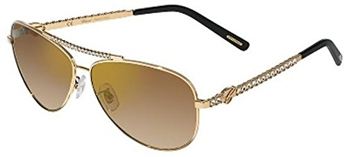 Chopard - Occhiale da Sole Donna, Rose Gold/Brown Gold Mirror Shaded (300G), SCHB58S 59/11/130
