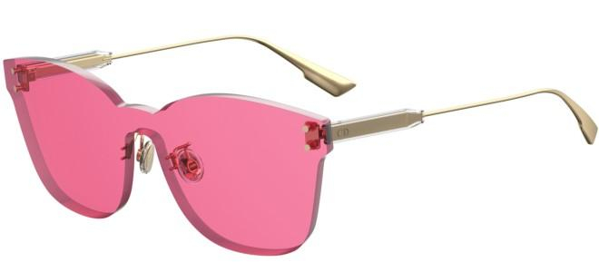 Christian Dior - Occhiale da Sole Donna, Color Quake 2, Gold/Fuchsia (MU1/U1)