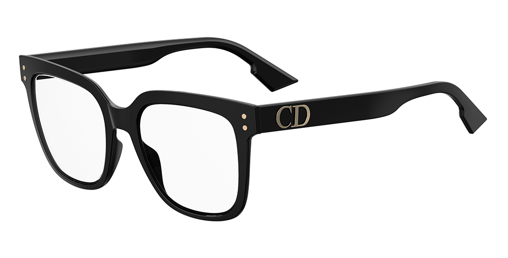 Christian Dior - Occhiale da Vista Donna, Dior Cd 1, Matte Black, 807/22