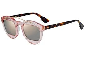 Christian Dior - Occhiale da Sole Donna, Dior Mania 1, Marrone (Penrose Brown/Grey Rose Gd Grey Speckled) 0J N71 C50/24
