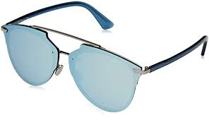 Christian Dior - Occhiale da Sole Donna, Dior Reflected P, Blu (Ruthen Bluette/Azure Marl) S62/RQ