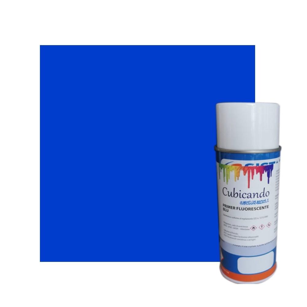 Primer Fluorescente Blu per Cubicatura