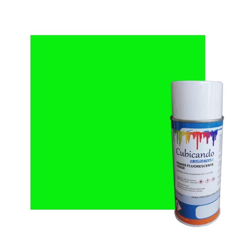 Primer Fluorescente Verde per Cubicatura