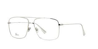 Christian Dior - Occhiale da Vista Donna, Dior Stellaireo 3 010 57 Silver (Palladium)