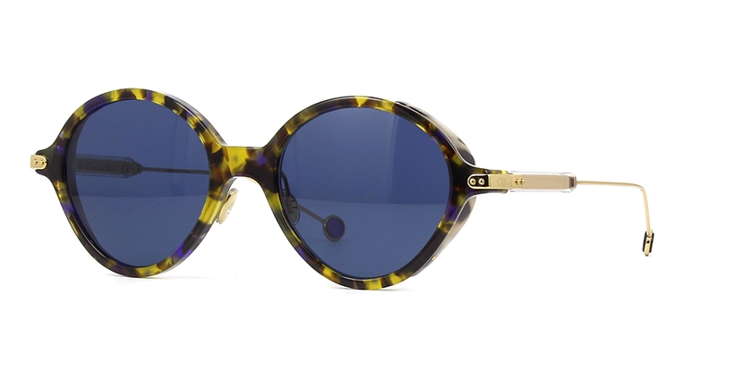 Christian Dior - Occhiale da Sole Unisex, Dior Umbrage, Blue Havana/Blue 0X4KU